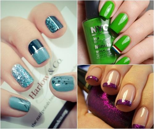 Модные цвета лака для ногтей зима 2013