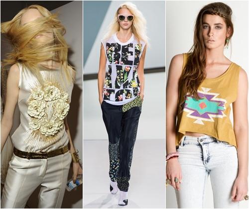 Модные майки 2013