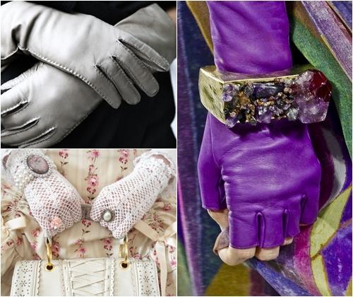 Модные перчатки весна-лето 2013