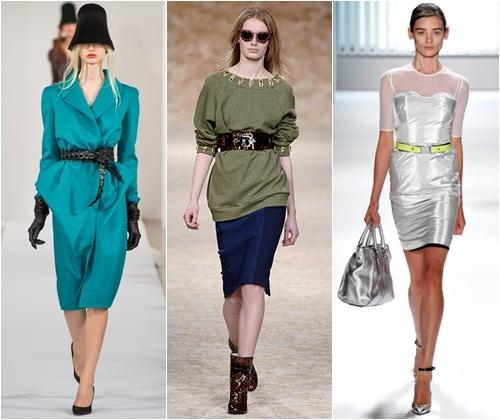 Модные ремни весна-лето 2013