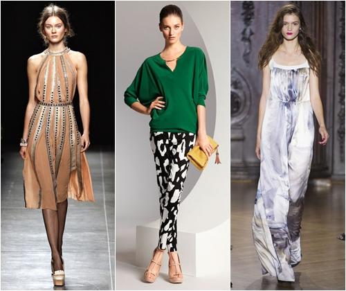 Модные силуэты весна-лето 2013