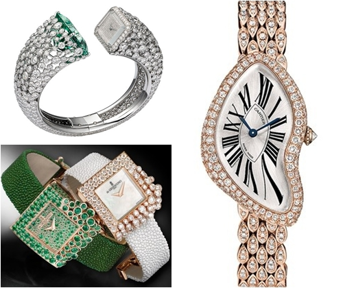 Модные часы 2013