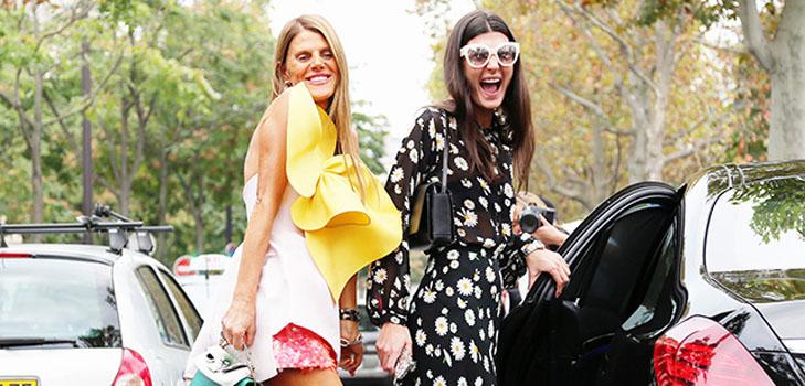 Парижская Неделя моды: street style vs подиум