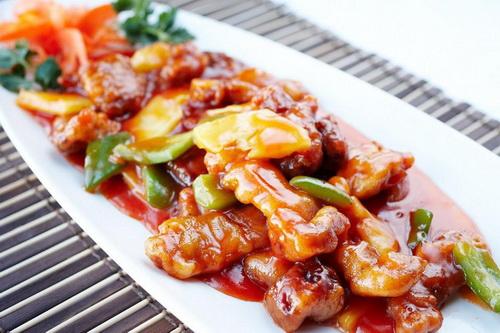 мясо под кисло-сладким соусом, простой и вкусный рецепт свинины в кисло-сладком соусе с красной фасолью