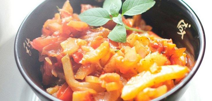 Рагу из кабачков – вкусно, полезно, дешево