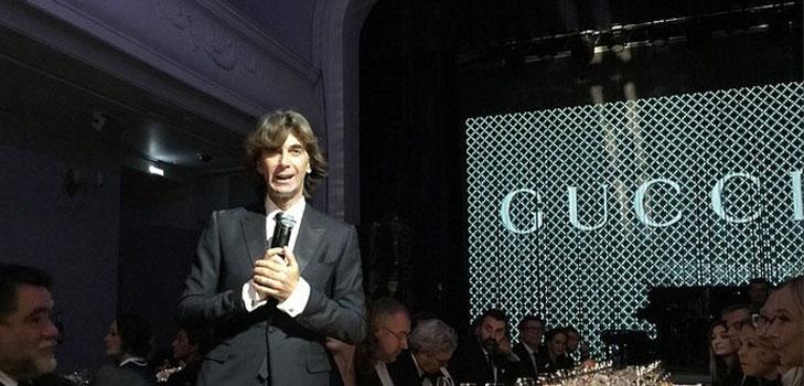 Открытие магазинов и выставки Gucci в Москве