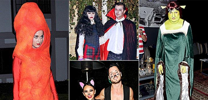 В чем звезды Голливуда отмечали Хэллоуин в этом году