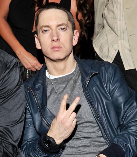 Eminem навестил смертельно больного раком подростка