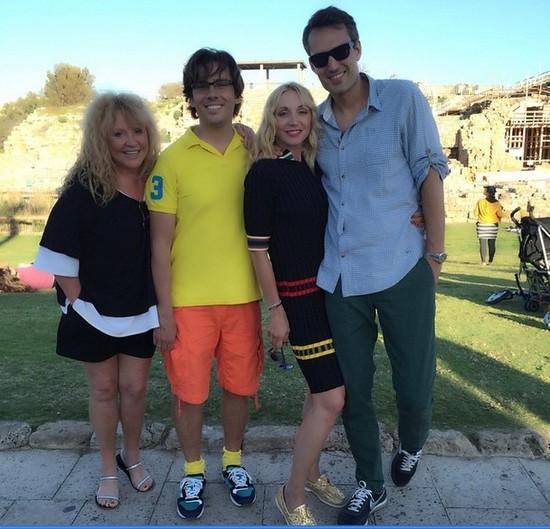 Алла Пугачева со своей семьей отдыхает в Израиле