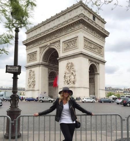 Кристина Орбакайте отдохнула в Париже