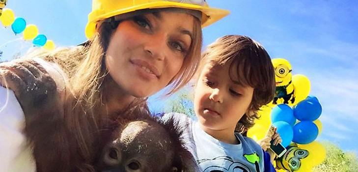 Сын Водонаевой будет учиться в Лос-Анджелесе