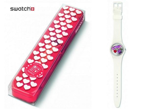 Больше любви: сюрприз от швейцарского часового бренда Swatch