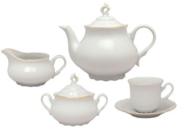 На что обратить внимание при выборе чайного сервиза?