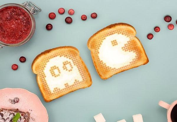 Арт-завтрак с «умным» тостером Toasteroid