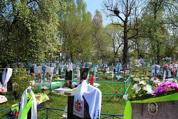 Когда ходят на кладбище
