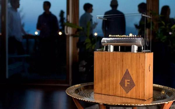 Магия огня: колонка-камин Fireside Audiobox