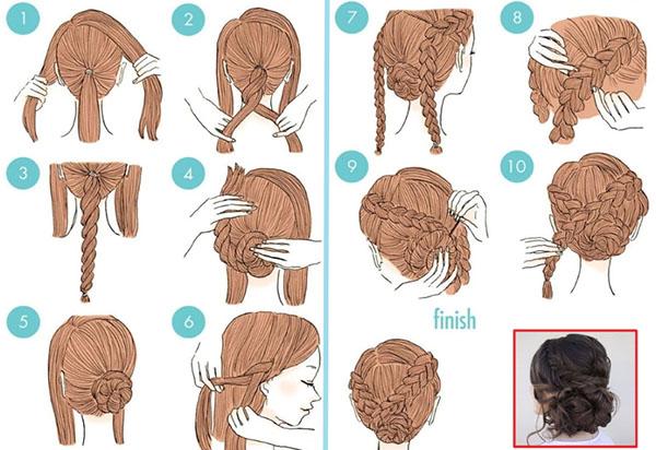 Локоны и косы: изысканные прически на 8 Марта
