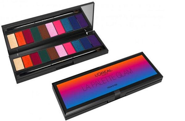 Радуга летнего заката в эксклюзивной линейке L'Oréal La Palette Glam