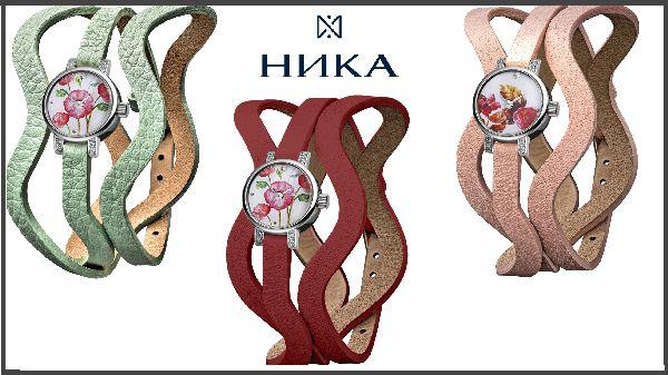 Модные акценты в женском образе с часами «Леденцы» и «VIVA FLEUR» от НИКИ