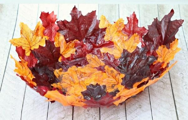 Поделки из листьев на тему «Осень» своими руками для школьников