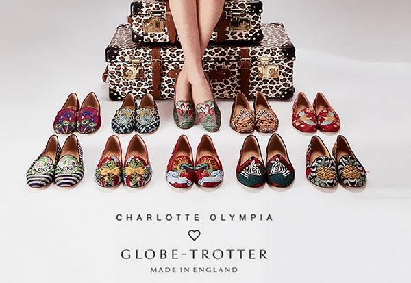 Пора в отпуск: travel-коллекция Globe-Trotter x Charlotte Olympia