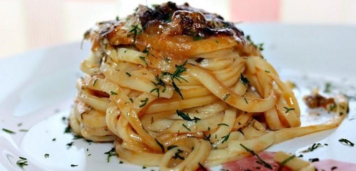 Рецепт вкусных гнезд от МАКФА с фаршем и томатом