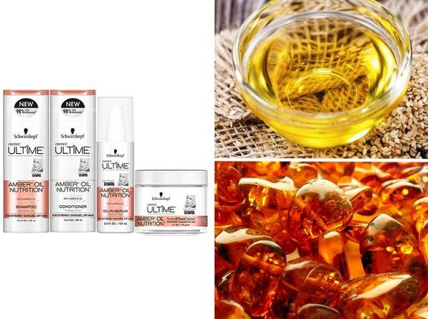 Локоны как у модели: новинки Schwarzkopf Amber + Oil Nutrition