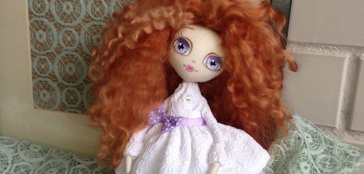 Текстильные куклы: мастер-класс с выкройками и видео