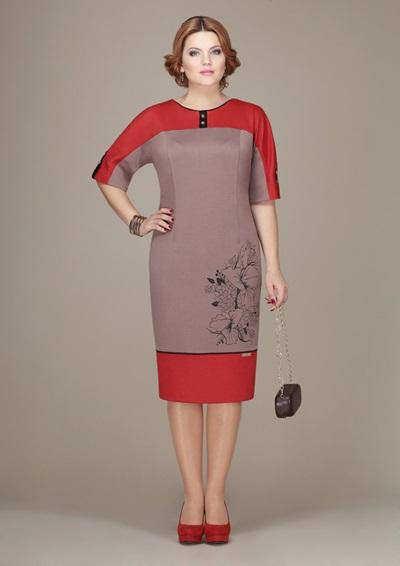 Красивые вечерние платья для полных женщин