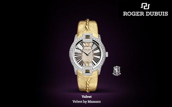Шарм 40-х в линейке ювелирных часов Velvet by Massaro