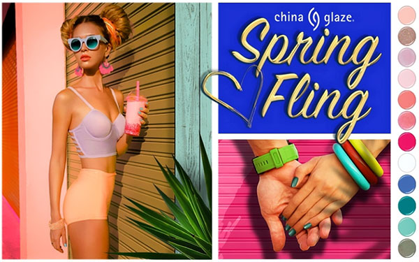 Весенний маникюр: стильные тренды от China Glaze