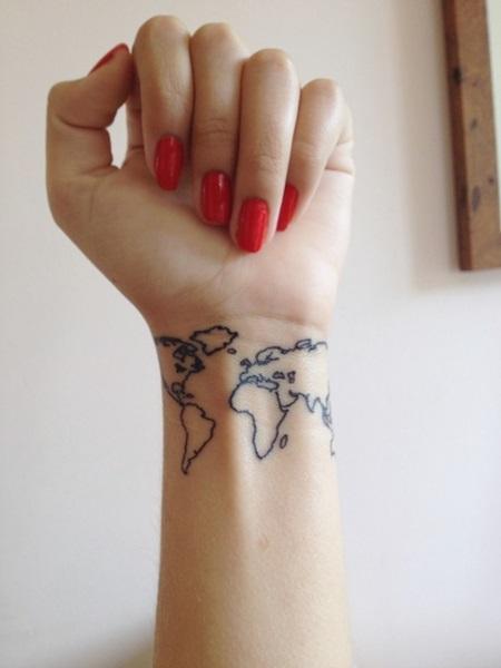 Татуировки для девушек на руке маленькие надписи и картинки или большие от локтя до кисти