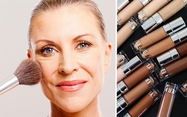 Эти недорогие тональные кремы советуем для зрелой кожи 40+