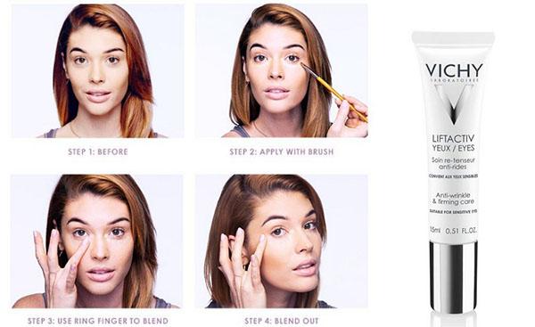 Так я прячу мешки под глазами с помощью макияжа