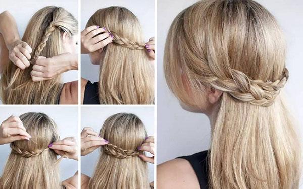 Красивые прически на 8 марта для коротких и длинных волос