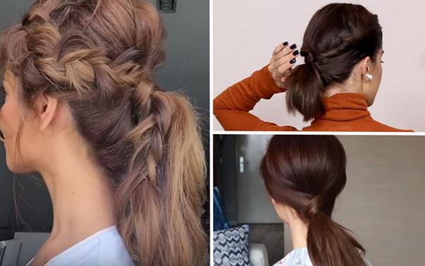 Как уложить волосы быстро: три красивых прически за 5 минут