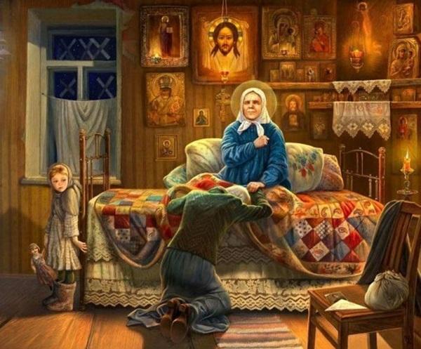 Сильная молитва Матроне Московской о помощи