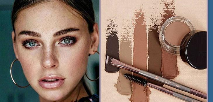 Секрет идеальных бровей: ТОП-3 классных помад для моментального макияжа