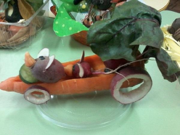 Детские поделки из овощей на тему Осень — своими руками для детского сада и школы