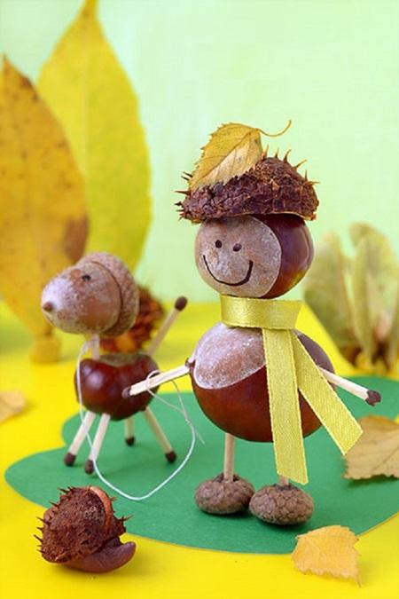 Детские поделки из природного и бросового материала летом и осенью (своими руками)