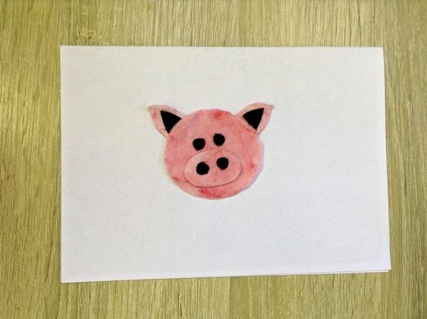 Желтая Земляная Свинья (Кабан) - символ 2019 года - делаем с детьми