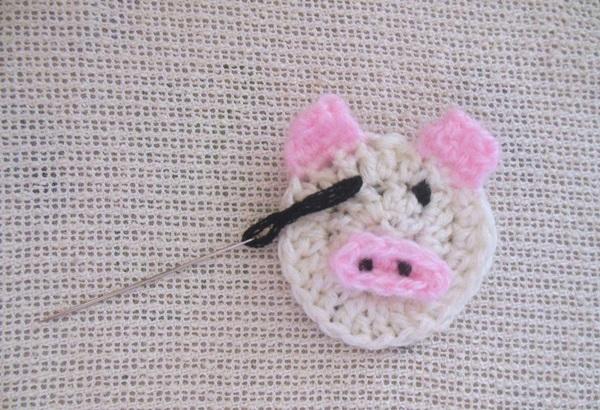 Елочная игрушка своими руками в год Свиньи