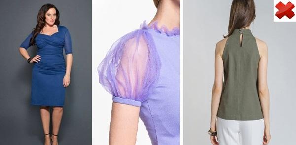 Как скрыть полные руки с помощью одежды