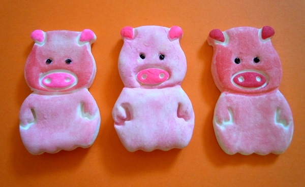 Картинки по запросу Легкие поделки на Новый Год свиньи