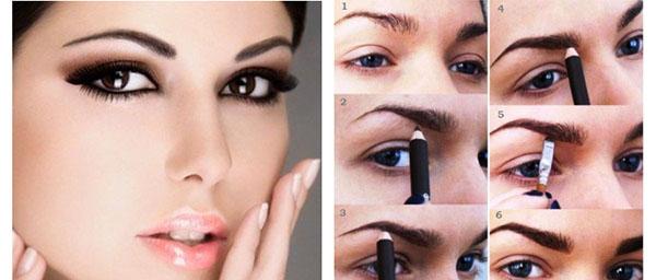 Убираем двойной подбородок макияж для полных девушек