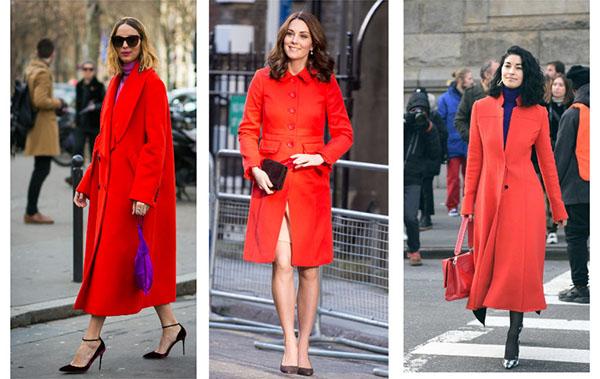 Почему этой осенью нужно купить красное пальто