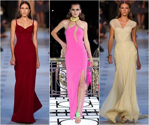 Красивые длинные платья на выпускной вечер 2013