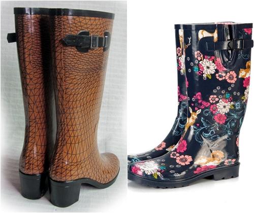 Модные сапоги весна-лето 2013