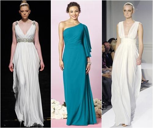 платья в греческом стиле 2013