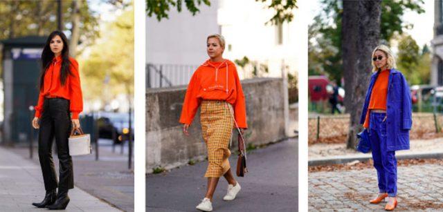 5 wow-примеров, как носить оранжевый цвет в холодное время года